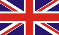 British flag UK flag