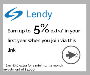 Lendy earn up to 5% extra
