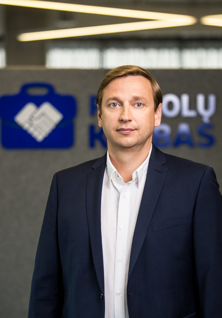 Evaldas Remeikis NEO Finance chairman